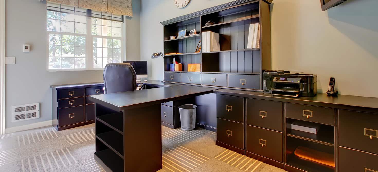 Come ricavare un angolo ufficio nel soggiorno di casa ...