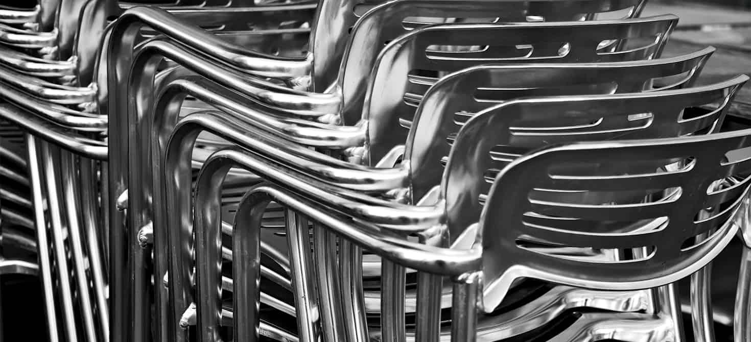 Vendita tavoli e sedie di qualit a for Sedie in alluminio