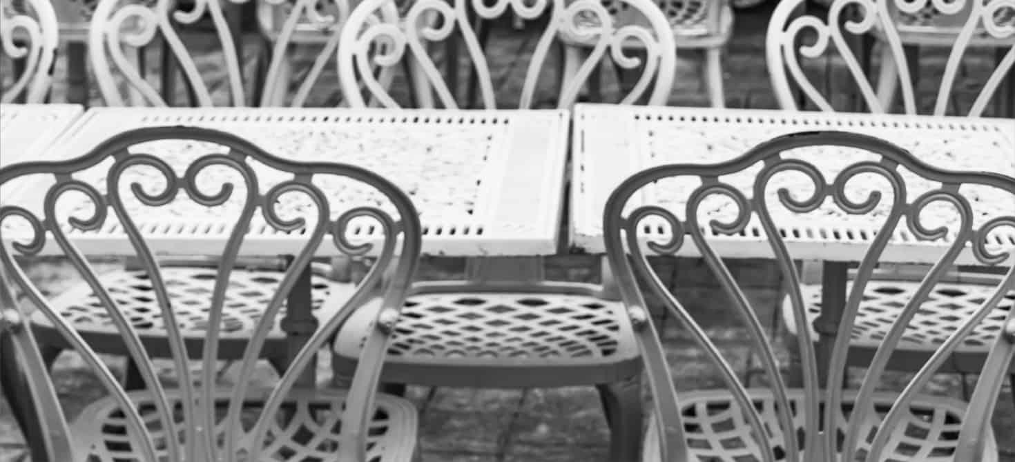Dove acquistare sedie in ferro battuto da giardino