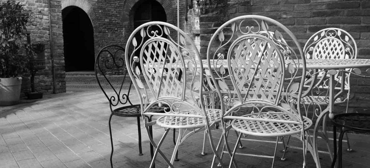 Tavoli Da Giardino Vintage.Dove E Come Trovare Sedie In Ferro Battuto Per Il Giardino