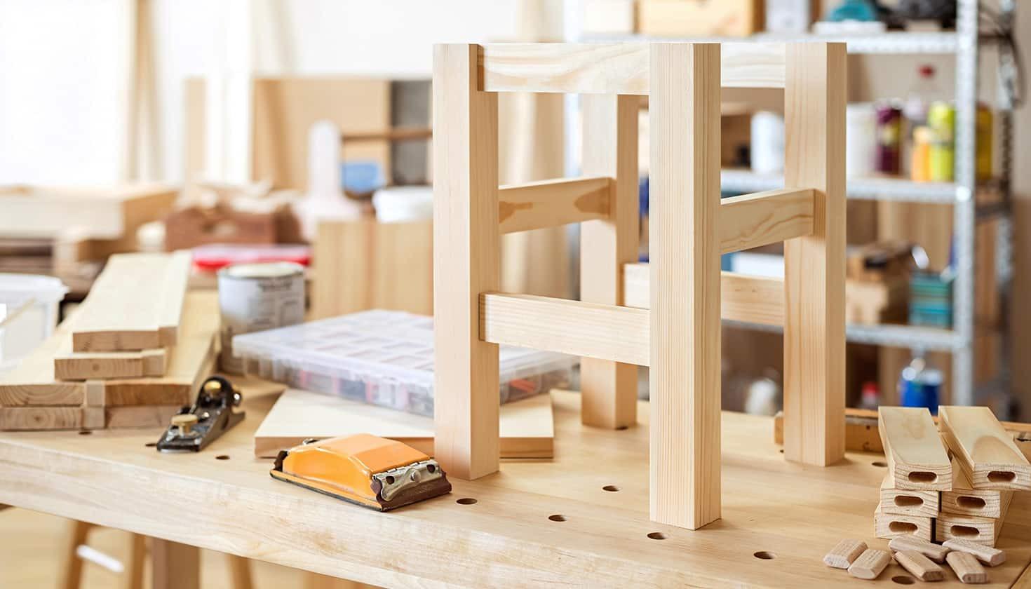 Come Costruire Un Letto In Legno Per Bambini.Come Costruire Uno Sgabello Di Legno Tavolisedie Com